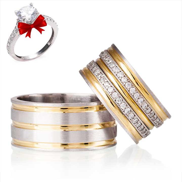 Açelya Modeli Gümüş Alyans