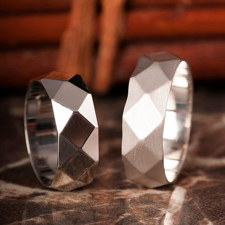 Castor Gümüş Alyans Modeli Alyans Çifti