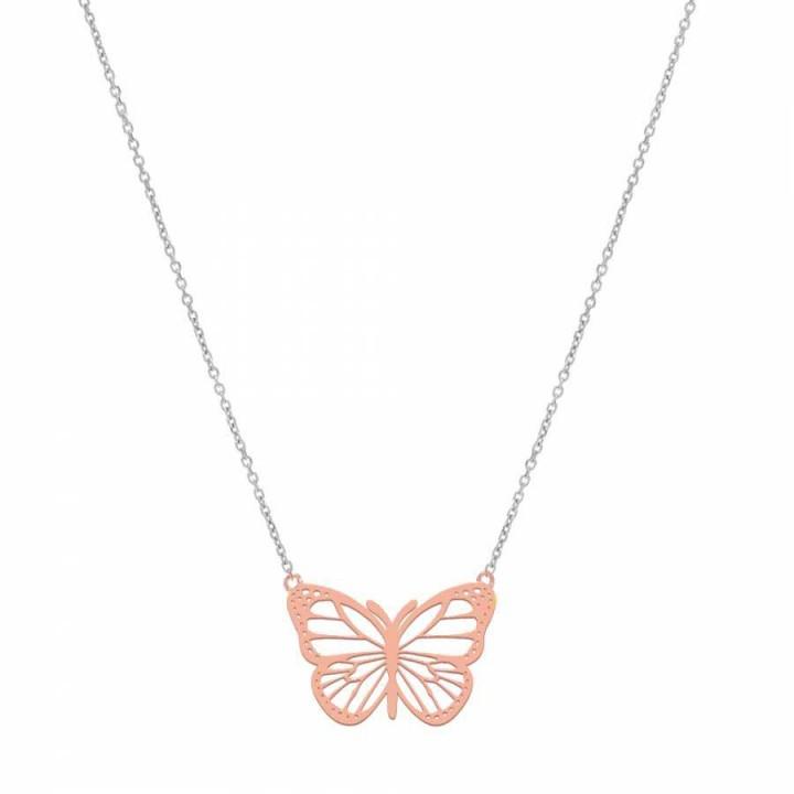 Butterfly Gümüş Kolye